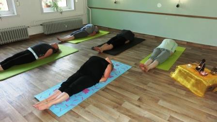 Yoga sanft Mittelstufe