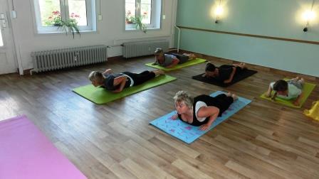 Yoga sanft gesunder Rücken